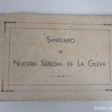 Postales: ÁLBUM POSTAL -SANTUARIO DE NUESTRA SEÑORA DE LA GLEVA - 20 POSTALES -HUECOGRABADO FOURNIER, VICTORIA. Lote 194658588