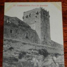 Postales: POSTAL DE TARRAGONA, TORRE DEL ARZOBISPO, N. 13, ED. L. ROISIN, R. GABRIEL GIBERT, NO CIRCULADA.. Lote 194658881