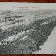 Postales: POSTAL DE TARRAGONA, RAMBLAS, N. 24, ED. L. ROISIN, R. GABRIEL GIBERT, NO CIRCULADA.. Lote 194658946