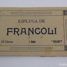 Postales: BLOC CON 8 POSTALES ESPLUGA DE FRANCOLI,L. ROISIN. . Lote 194661962