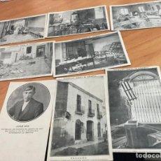 Postales: FEDERACION OBRERA DE SABADELL. LOTE 8 POSTALES ACONTECIMIENTOS HUELGA VAGA GENERAL 1917 (CRIP6). Lote 194719227