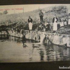 Postales: LAS FONTS DE TARRASA-LAGO-POSTAL ANTIGUA-(67.867). Lote 194722238