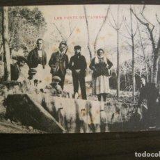 Postales: LAS FONTS DE TARRASA-POSTAL ANTIGUA-(67.868). Lote 194722267