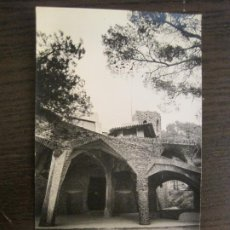 Postales: BARCELONA-GAUDI-CRIPTA DE LA COLONIA GÜELL-POSTAL FOTOGRAFICA ANTIGUA-(67.871). Lote 194722835