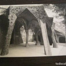 Postales: BARCELONA-GAUDI-CRIPTA DE LA COLONIA GÜELL-POSTAL FOTOGRAFICA ANTIGUA-(67.872). Lote 194722857