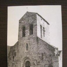 Postales: BEUDA-ESGLESIA PARROQUIAL-POSTAL ANTIGUA-(67.878). Lote 194723617