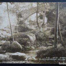 Postales: ARBUCIES, ALREDEDORES DE LE PIPES. POSTAL CIRCULADA CON SELLO DE LOS AÑOS 20 DEL SIGLO PASADO. Lote 194723727