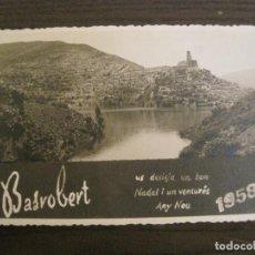 Postales: FELICITACIO NADAL 1958 DE BASROBERT-POSTAL FOTOGRAFICA ANTIGUA-(67.880). Lote 194723852