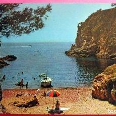 Cartoline: POSTAL - PALAMÓS - GIRONA - COSTA BRAVA - AÑO 1965 - SERIE Nº 37 - CALA ELS CORBS - ZERKOWITZ. Lote 194729376