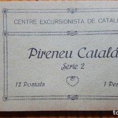 Postales: CENTRE EXCURSIONISTA DE CATALUNYA. PIRENEU CATALÁ SERIE 2. 12 POSTALES(COMPLETA). . Lote 194732203
