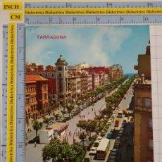 Postales: POSTAL DE TARRAGONA. AÑO 1972. RAMBLA. 208 CHINCHILLA. 42. Lote 194743772