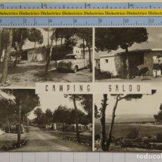Postales: POSTAL DE TARRAGONA. AÑOS 30 50. CAMPING SALOU 8 RAYMOND. 44. Lote 194743795