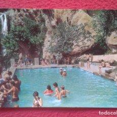 Postales: POSTAL POST CARD BARCELONA SANT MIQUEL DEL FAY MIL ANYS D´HISTORIA FITER 1977 PISCINA VER FOTO....... Lote 194749316