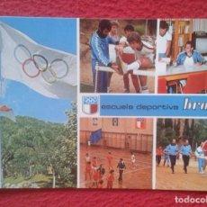 Postales: POSTAL POSTCARD BARCELONA ESCUELA DEPORTIVA BRAFA EDUCACIÓN FÍSICA DEPORTE EDUCATIVA DEPORTIVA ESPAÑ. Lote 194751265