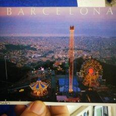 Postales: POSTAL BARCELONA TIBIDABO MAL RECORTADA. Lote 194769981
