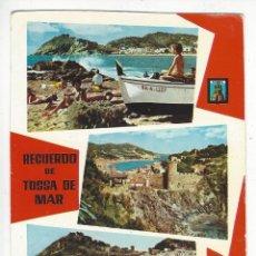 Postales: 1295 - RECUERDO DE TOSSA DE MAR.- . Lote 194776478