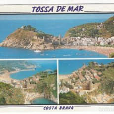 Postales: TOSSA DE MAR (COSTA BRAVA) - 477 .- DIVERSAS VISTAS.. Lote 194777202