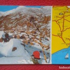 Postales: POSTAL POST CARD CASTELLAR DE N´HUG BARCELONA PIRINEU CATALÀ PUIGLLANÇADA Y PUEBLO NEVADO VER FOTO... Lote 194788565