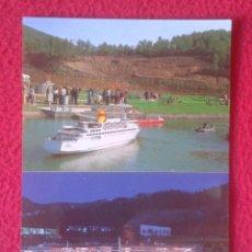 Postales: POSTAL POST CARD AEROPORT DE BARCELONA I FERRY AEROPUERTO BARCO AVIONES PLANES AIR PLANE AVIÓN....... Lote 194794246