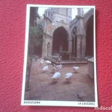 Postales: POSTAL POST CARD BARCELONA LA CATEDRAL CLAUSTRO THE CATHEDRAL CLOISTER KATHEDRALE CISNES ? PATOS ?... Lote 194858737