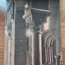 Postales: TARJETA POSTAL L.ROISIN,FOT. N•30 MONESTIR DE RIPOLL. PUERTA DE LA SACRISTÍA . Lote 194861558