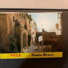 Postales: BLOC(12 FOTOS) PALS. COSTA BRAVA. 1978.. Lote 194879986