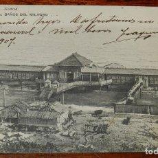 Postales: POSTAL DE TARRAGONA, BAÑOS DEL MILAGRO, ED. HAUSER Y MENET 9. CIRCULADA, SIN DIVIDIR.. Lote 194880511
