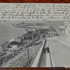 Postales: POSTAL DE TARRAGONA, ESCALERA DEL ZIG ZAG, ED. HAUSER Y MENET 45. CIRCULADA.. Lote 194880775