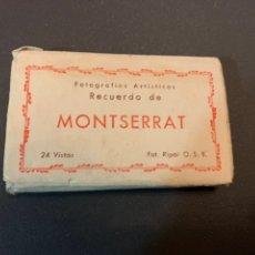Postales: BLOC( 24 VISTAS ) MONTSERRAT. FOT.RIPOL. Lote 194881282