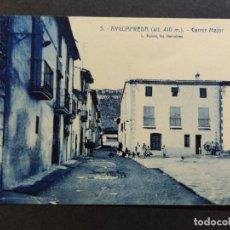 Postales: AIGUAFREDA-CARRER MAJOR-ROISIN-5-POSTAL ANTIGUA-(67.993). Lote 194888761