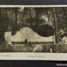 Postales: AIGUAFREDA-FONT DEL LLEO-POSTAL FOTOGRAFICA ANTIGUA-(67.995). Lote 194888886