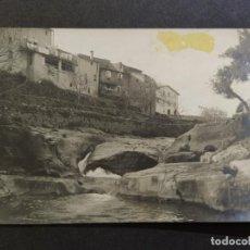 Postales: AIGUAFREDA-L'ABELLA-GORG DE LA SERRA-POSTAL FOTOGRAFICA ANTIGUA-(67.996). Lote 194888921