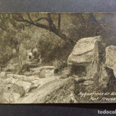 Postales: AIGUAFREDA DE DALT-FONT FRESCA-POSTAL FOTOGRAFICA ANTIGUA-(67.997). Lote 194888968