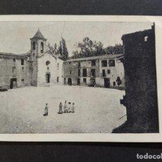 Postales: AIGUAFREDA-LA PLAÇA-POSTAL ANTIGUA-(68.000). Lote 194889247