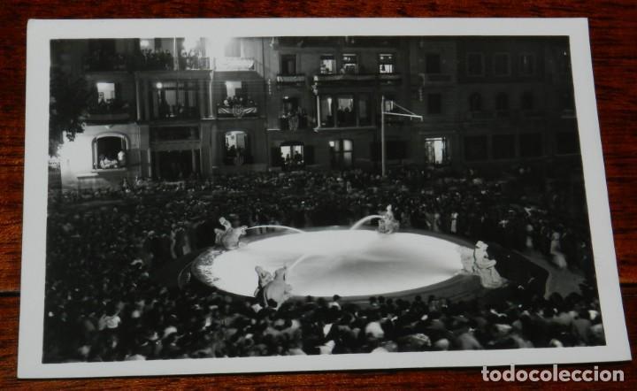 POSTAL DE TARRAGONA DE NOCHE. N. 204. FUENTE DEL CENTENARIO. ED. GONDRA. NO CIRCULADA. (Postales - España - Cataluña Antigua (hasta 1939))