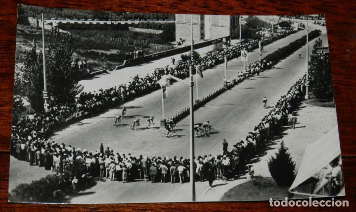 FOTO POSTAL DE TARRAGONA, AVENIDA CONDE VALLELLANO. CARRERA CICLISTA (CHINCHILLA NUM.108), NO CIRCUL (Postales - España - Cataluña Antigua (hasta 1939))