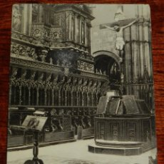 Postales: POSTAL DE TARRAGONA. CATEDRAL. EL CORO. (P. GABRIEL GIBERT), NO CIRCULADA.. Lote 194891321