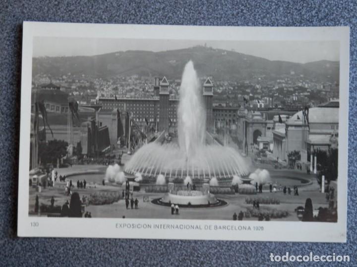 BARCELONA EXPOSICIÓN INTERNACIONAL DE 1929 POSTAL ANTIGUA (Postales - España - Cataluña Antigua (hasta 1939))
