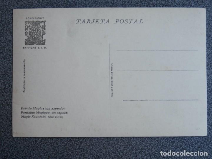 Postales: BARCELONA EXPOSICIÓN INTERNACIONAL DE 1929 POSTAL ANTIGUA - Foto 2 - 194892602