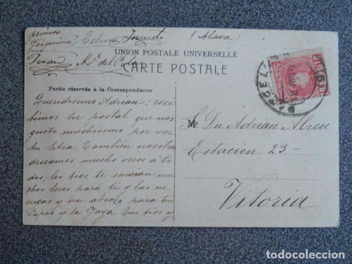 Postales: BARCELONA COLECCIÓN ZOOLÓGICA DEL PARQUE RARA POSTAL FOTOGRÁFICA CIRCULADA PPIOS SIGLO - Foto 2 - 194893028