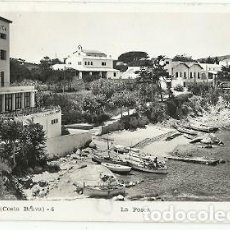 Postales: ANTIGUA POSTAL 4 PALAMOS COSTA BRAVA LA FOSCA R GASSO FOT ESCRITA 1959. Lote 194895130