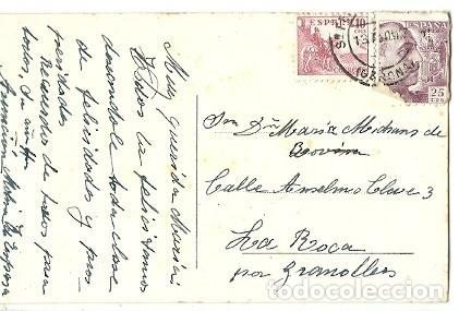 Postales: ANTIGUA POSTAL 31 SAGARO DETALLE DE SAN POL DESDE SAGARO FOTO R GASSO ESCRITA - Foto 2 - 194895276