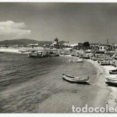 Postales: ANTIGUA POSTAL SERIE Nº 5 COSTA BRAVA Nº 6 PALAMOS PLAYA FOTO J CEBOLLERO ESCRITA 1954. Lote 194895391