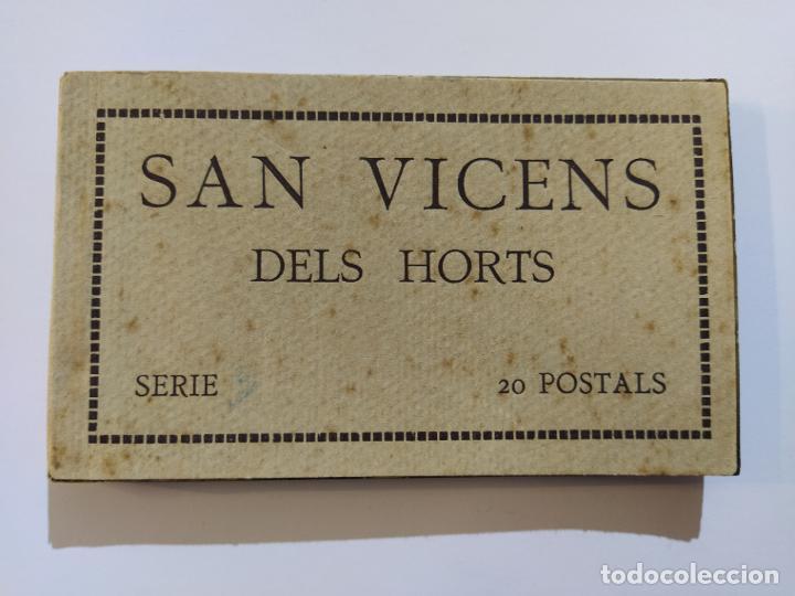 Postales: SAN VICENS DELS HORTS-BLOC DE 20 POSTALES FOTOGRAFICAS-ED·JUNCADELLA-FOT CARCASONA-VER FOTOS(68.012) - Foto 2 - 194895648