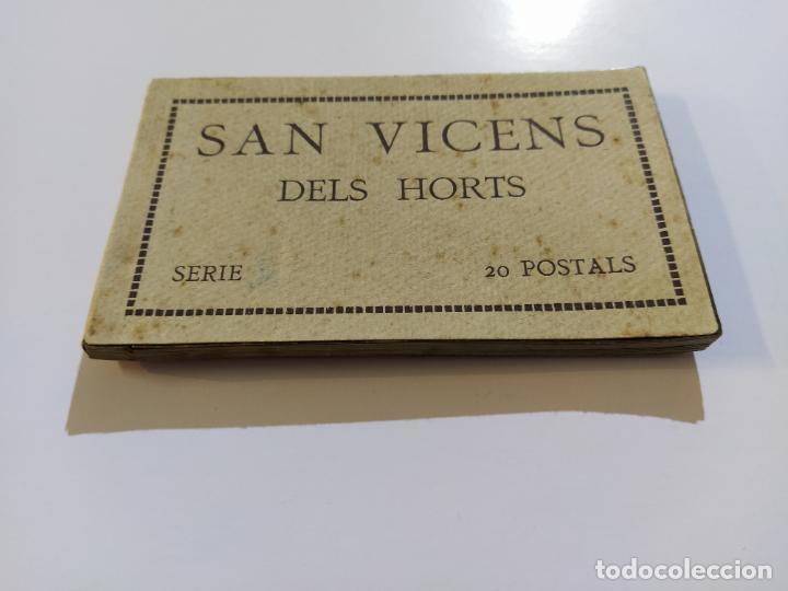 SAN VICENS DELS HORTS-BLOC DE 20 POSTALES FOTOGRAFICAS-ED·JUNCADELLA-FOT CARCASONA-VER FOTOS(68.012) (Postales - España - Cataluña Antigua (hasta 1939))
