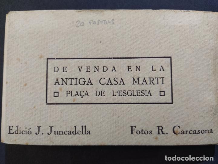 Postales: SAN VICENS DELS HORTS-BLOC DE 20 POSTALES FOTOGRAFICAS-ED·JUNCADELLA-FOT CARCASONA-VER FOTOS(68.012) - Foto 35 - 194895648