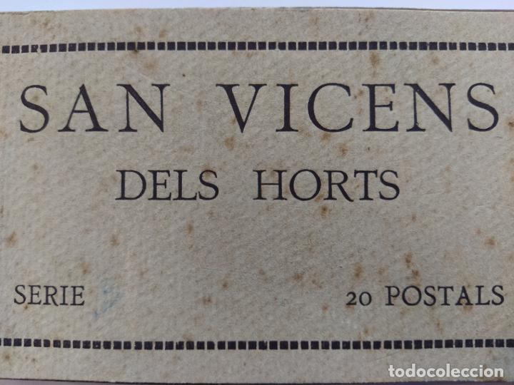 Postales: SAN VICENS DELS HORTS-BLOC DE 20 POSTALES FOTOGRAFICAS-ED·JUNCADELLA-FOT CARCASONA-VER FOTOS(68.012) - Foto 3 - 194895648