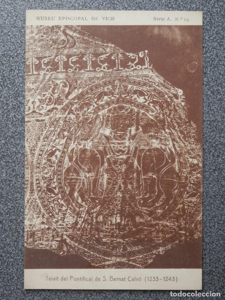 MUSEO EPISCOPAL DE VICH GIRONA LOTE DE 13 POSTALES ANTIGUAS (Postales - España - Cataluña Antigua (hasta 1939))