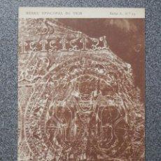 Postales: MUSEO EPISCOPAL DE VICH GIRONA LOTE DE 13 POSTALES ANTIGUAS. Lote 194903458