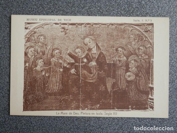 Postales: MUSEO EPISCOPAL DE VICH GIRONA LOTE DE 13 POSTALES ANTIGUAS - Foto 2 - 194903458